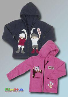 Playshoes Fleece Jacke mit Motiv Fleecejacke Strickjacke Kinderjacke Pirat Tiere