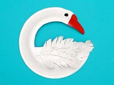 Paper plate project paper plate swan art project idea for kids craft activities with within art and craft ideas for kids using paper plates paper plate Paper Plate Art, Paper Plate Crafts, Paper Plates, Paper Crafting, Diy Paper, Paper Plate Animals, Craft Activities For Kids, Preschool Crafts, Crafts For Kids
