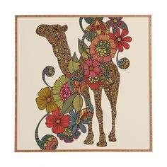 Valentina Ramos Easy Camel Framed Wall Art | DENY Designs Home Accessories