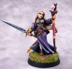 Reaper Bones Lysette, Elf Wizard - SnM Stuff