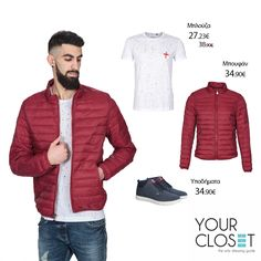 #Spring/#summer #Men's #collection '17! Get the #look! Μπλούζα 🔎: 1086 Μπουφάν 🔎: 1497 Υποδήματα 🔎: 1510 #fashionlover #eshop #look #fashionista #fashionstyle #fashionaddict #fashionlover #fashion #style #fashionblog #style #jackets #lookoftheday #new #newcollection #menswear #mensfashion #men #red #denim #jeans