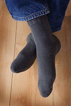 Two at Once, Toe Up, Magic Loop Socks Pattern