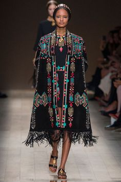 Vogue's Guide to the Fashion Trends for Spring 2014 - Guides. Wonderful ethnic influences.
