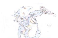 artbooksnat:  Kill la Kill key animation sequence for the fight...