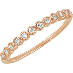 This rose gold bracelet is elegant and trendy.  Let Bo-K's Jewelry Boutique help you find a rose gold piece.