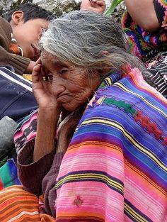 A Native Woman from Guatemala.
