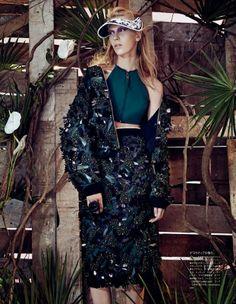 Mis Queridas Fashionistas: Juliana Schurig by Sharif Hamza for Vogue Japan March 2014