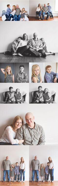 Studio Family Session | Kelly Gorney Photography