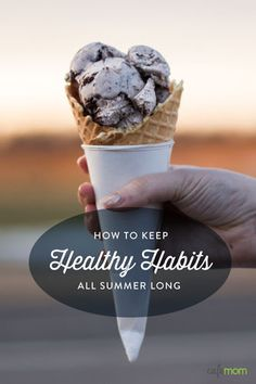 Grabbing burgers and fries on your drive to the coast. Buying cotton candy and soft serve at the fair. Grilling ribs for your fam in the backyard ... Summertime's delicious fun -- can't argue with that. There can be a downside to all that delectable downtime ... but there are habits you can create to fight it, too.