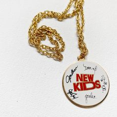 Excited to share this item from my #etsy shop: New Kids on the Block Vintage Necklace