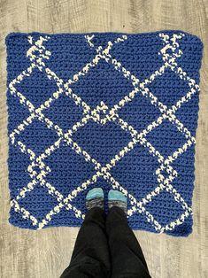 Scandinavian Rug Crochet PATTERN Crochet for the Home | Etsy