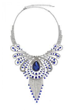 Beautifully Designed Fashion Rhinestone Necklace Set