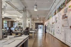 Take a tour of the SWA Group office in San Francisco, browse SWA Group office photos, and learn more about how the SWA Group office was created.