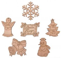 Wooden toys for Christmas tree #Christmas #inspiration #idea #eco #wood #decoation
