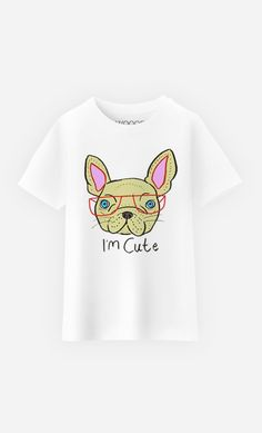 T-Shirt Enfant I Am Cute par Ashley Percival - Wooop.fr