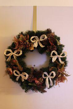 DIY fall wreath.