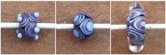 Tutorial - Encased Layered Triangle Bead Tutorial - Lampwork Etc. Can be the basis of a flower!