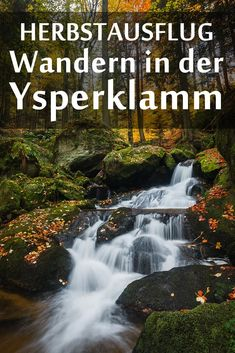 Ysperklamm: Erfahrungsbericht mit den besten Fotospots sowie allgemeinen Tipps für die Wanderung durch die Klamm. Germany Travel, Dubai, Waterfall, Around The Worlds, Hiking, Traveling, Outdoor, Beautiful, Hiking Trails