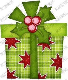 S SL Christmas Present Scrapbook Embellishment JSS971 | eBay