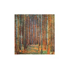 Tannenwald (Pine Forest), c.1902 Wall Art Print (21 CAD) ❤ liked on Polyvore featuring home, home decor, wall art, artists, forest poster, wall posters, forest wall art and home wall decor