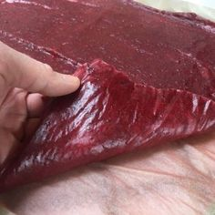 Dehydrated Maple Cranberry Sauce and Fruit Leather {AIP, Paleo}