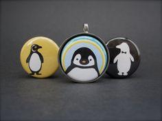 Penguin Necklace Set - 3 in 1 magnetic necklace set