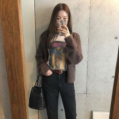 Daily Look, Simple Style, Put On, Korean Fashion, Military Jacket, Ootd, Style Inspiration, Photo And Video, Jackets