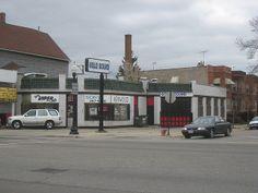 old gas stations | Vintage Gas Station - Irving Park Road - Chicago | Flickr - Photo ...