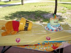 Winnie the Pooh First Birthday Cake | Magical Day Parties | A Fan Site Celebrating Disney Themed Events