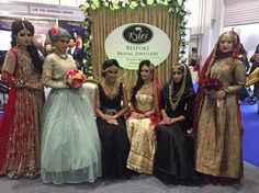 Our lovely models at Asian bride live with makeup by @lubnarafiq and @karamakeupartistry styling by @sheulinessa outfits by @charmicreations @ziggimenswear @simayaslondon and jewellery by @kylescollection #kylesabl by kylescollection