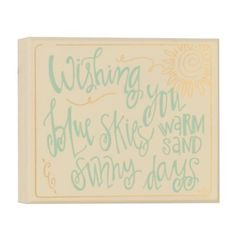 Sunny Day Wishes Wooden Plaque | Kirklands