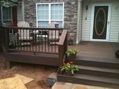 Front Porch Steps Designs Build A Front Porch To Cover
