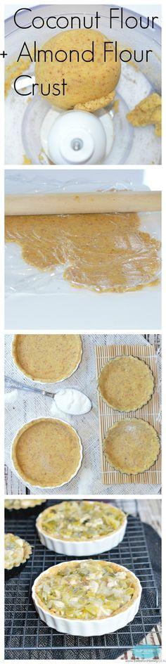 Coconut Flour Pie Crust {how to make pie crust with coconut flour?}