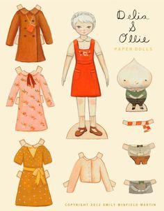 Delia-&-Oliie-paper-dolls