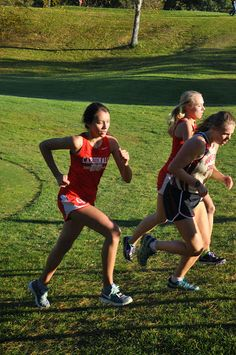 Coon Rapids Girls Cross Country 2014 - Conference - Elk River 20141008 - Leah Johnson