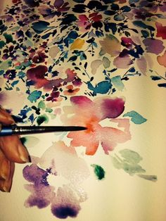 Beautiful water colours