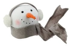 RAZ Imports  Winterberry  Snowman Head Tree Topper 9 with Ear Muffs * You can get additional details at the affiliate link Amazon.com.