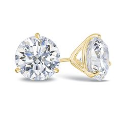 Worry-Free White Gold Plated Cute Small Flower Round CZ Smooth Stud Earrings