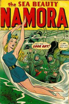 Cover for Namora (Marvel, 1948 series) #2