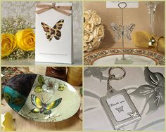 Butterfly Party Favors for bridal shower, sweet 16, sweet 15 and more from HotRef.com #butterfly