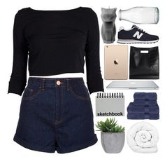 """""""unbreak broken"""" by starry-skies-in-the-city ❤ liked on Polyvore featuring Brinkhaus, Topshop, Lux-Art Silks, Christy, 3.1 Phillip Lim, Paperchase, PyroPet and New Balance"""