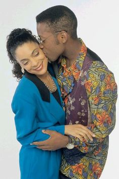 Dwayne and Whitley - A Different World