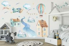 Malaga, Kids Room, Stickers, Children, Home Decor, Young Children, Boys, Decoration Home, Room Decor