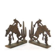 Rodeo Bookends
