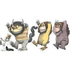 $40  Where the Wild Things Are Wall Cling - This makes me all sorts of :) :) :) :) :)