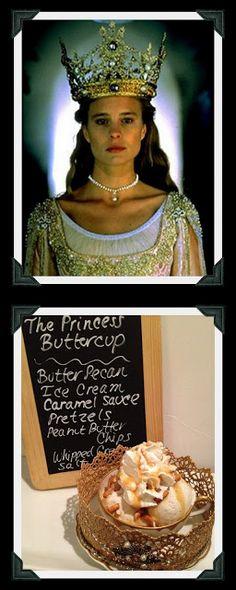 Princess Bride-themed ice cream party