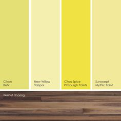 cottage yellow from valspar painted hope's new room this color