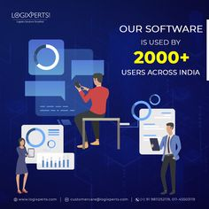 Logixperts provides Transport Management Software with Logistics ERP Software and accelerate the goods transportation management system with patented real-time tracking, and analytics dashboards. Analytics Dashboard, Dashboards, Cloud Based, Transportation, Software, Management, Clouds, India, Goa India