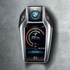 Une clé connectée pour la BMW i8