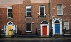 Some doors of ....  Portes - Dublin  leblogphoto.blogspot.com/search/ label/Dublin
